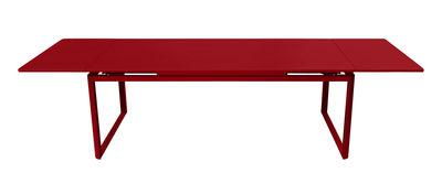 Table à rallonge Biarritz / L 200 à 300 cm - Fermob coquelicot en métal