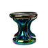 Table d'appoint Oily / Céramique iridescente - Ø 39 x H 41 cm - Pols Potten