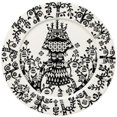 Tischkultur - Teller - Taika Teller / Ø 27 cm - Iittala - Schwarz - Porzellan