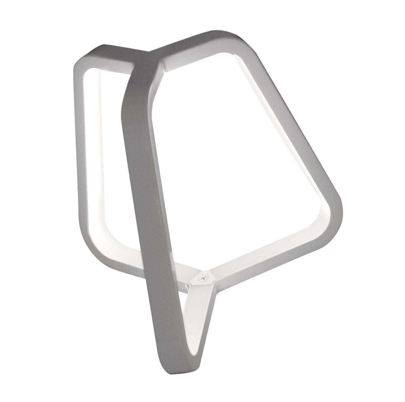 Leuchten - Tischleuchten - Toy Tischleuchte H 20 cm - Martinelli Luce - Weiß - Aluminium, Methacrylate, Polykarbonat