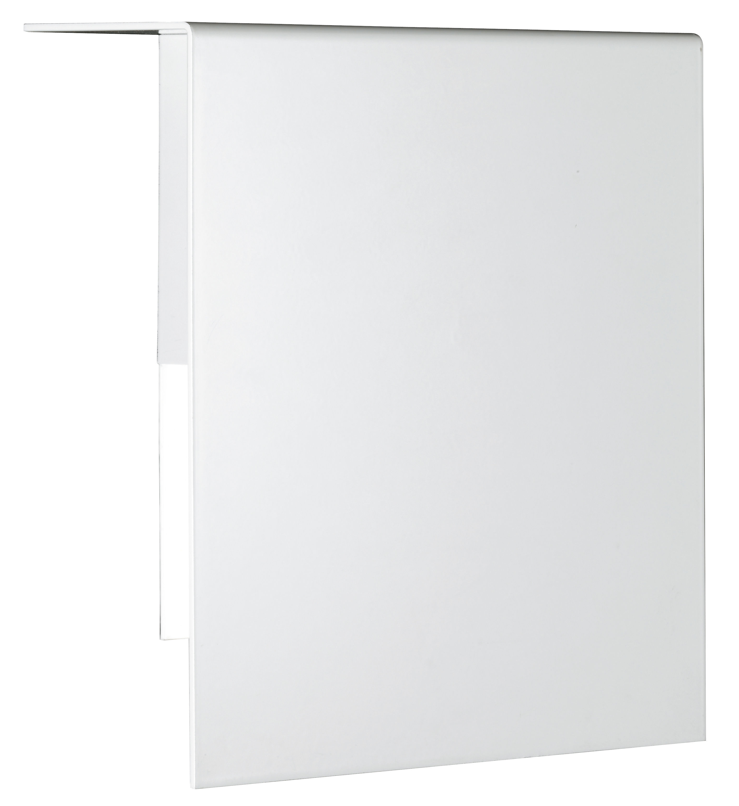Lighting - Wall Lights - Corrubedo LED Wall light by Fontana Arte - White - Lacquered metal, Satin glass