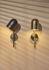 Applique LUCEO - / Orientabile - Metallo & vetro di AYTM