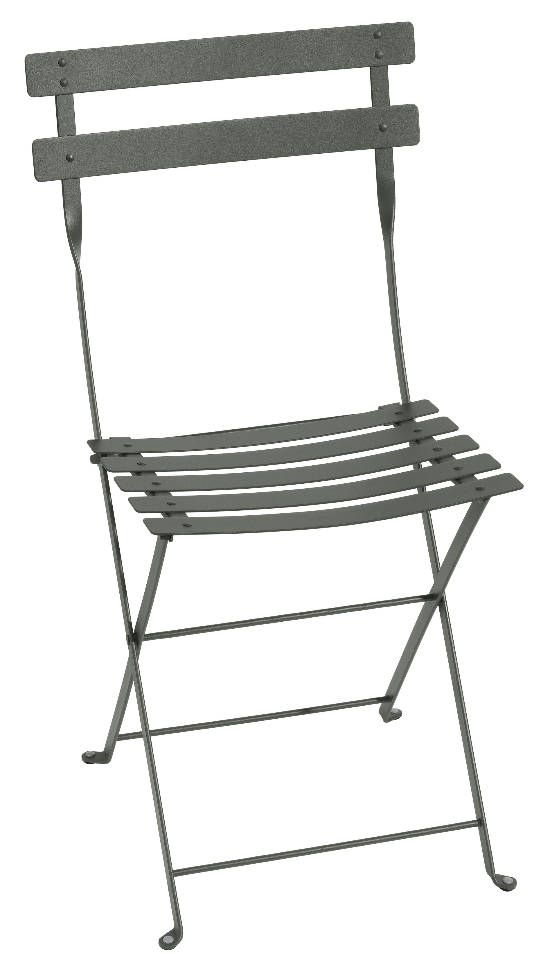 Furniture - Chairs - Bistro Folding chair - Metal by Fermob - Rosemary - Lacquered steel