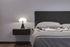 Lampada da tavolo Minipipistrello LED - / Variatore - H 35 cm di Martinelli Luce