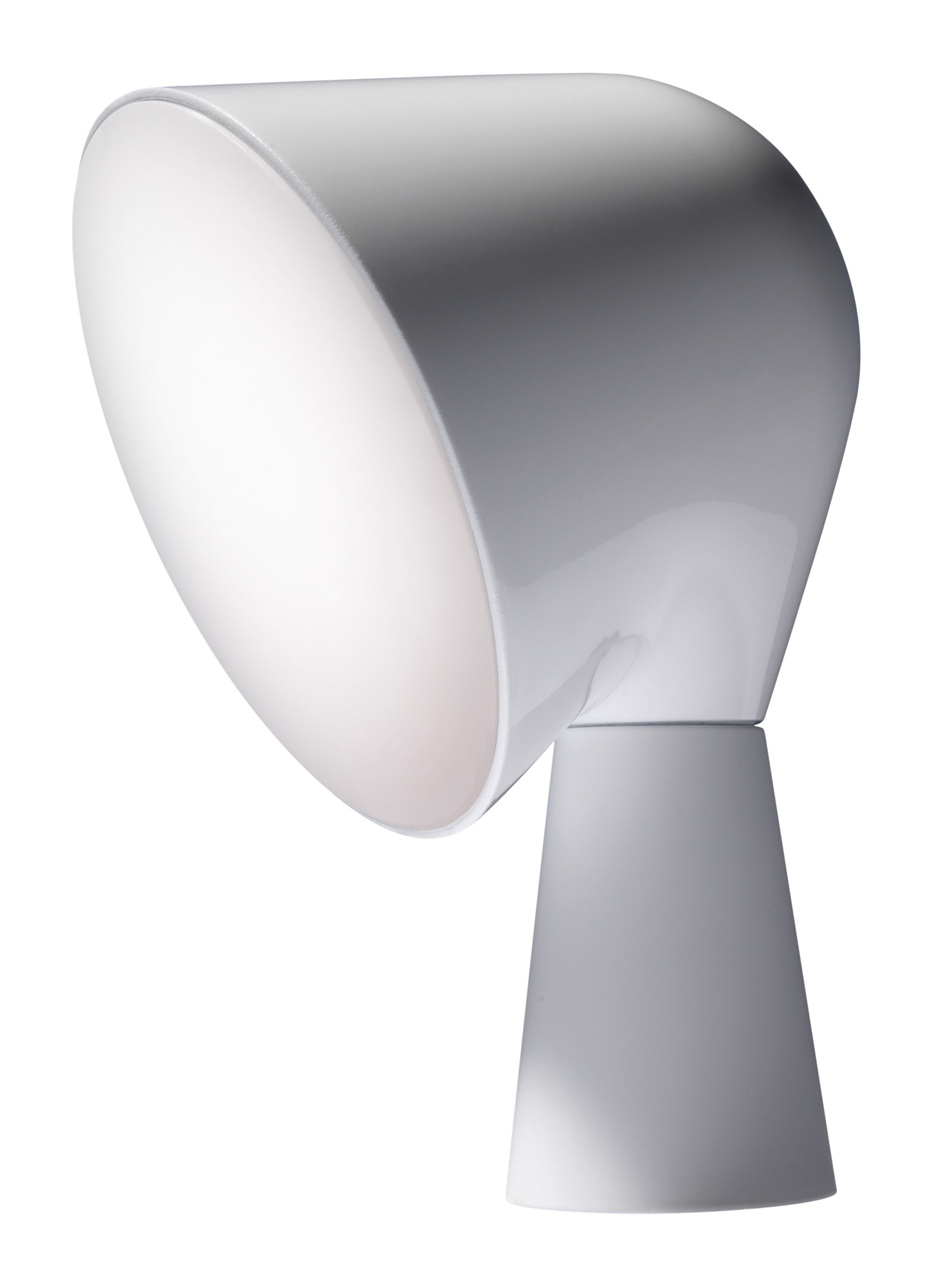 Luminaire - Lampes de table - Lampe de table Binic - Foscarini - Blanc - ABS, Polycarbonate