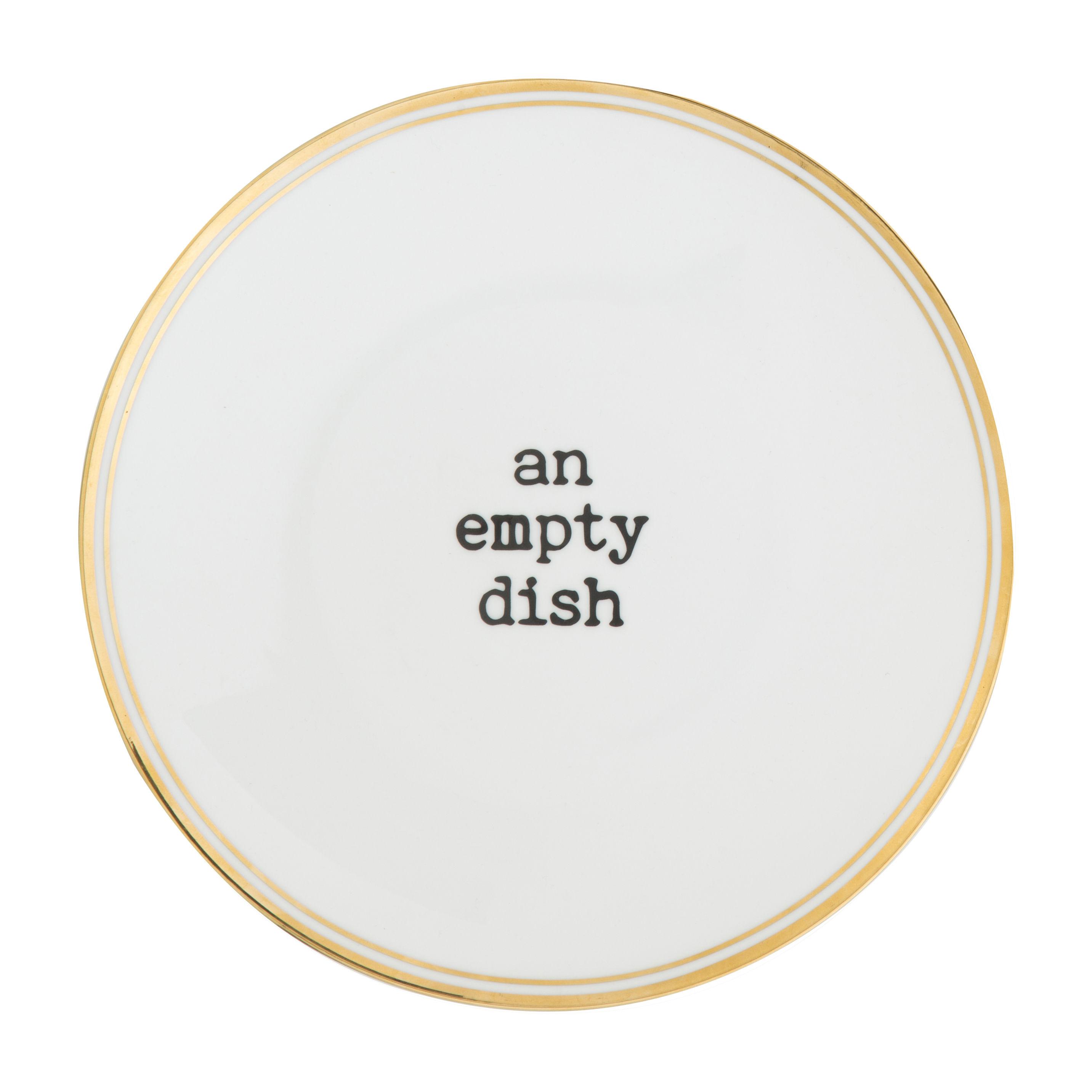 Tavola - Piatti  - Piatto An empty dish - / Ø 22 cm di Bitossi Home - Empty dish - Porcellana
