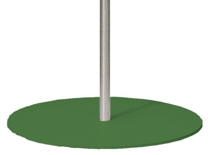 Outdoor - Parasols - Pied de parasol pour parasol Frou Frou - Symo - Base verte - Acier laqué
