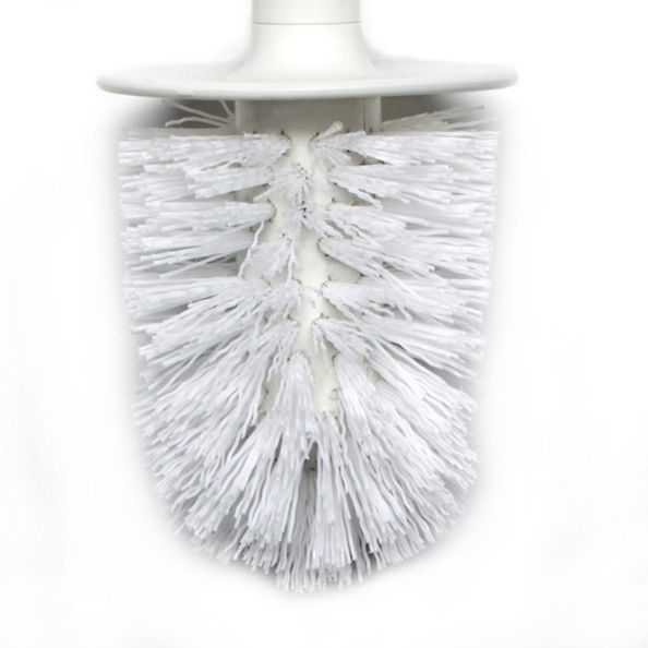 Decoration - For bathroom - Kali Replacement brush - For Khali toilet brush by Authentics - White - Replacement brush - Nylon