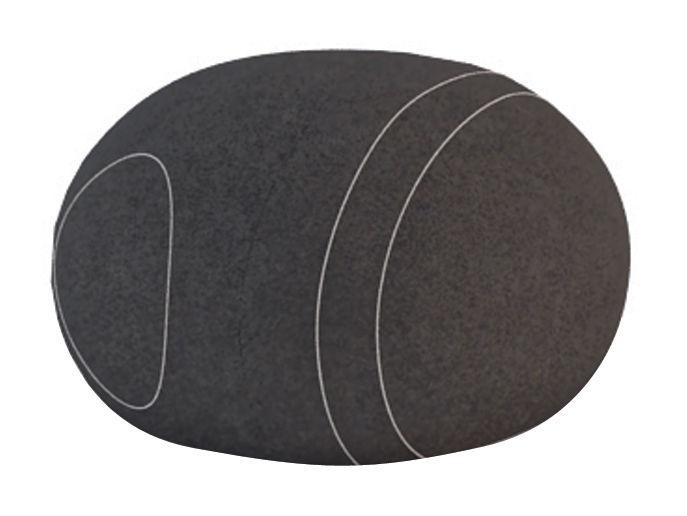 Möbel - Möbel für Teens - Carla Livingstones Sitzkissen Wolle / für den Inneneinsatz - 70 x 60 cm - Smarin - Schwarz - 70 x 60 cm / H 40 cm - Bultex, Wolle