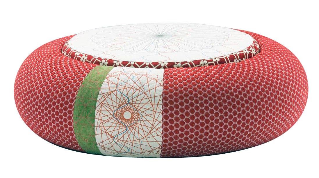 Möbel - Sitzkissen - Sushi - Donut Sitzkissen Ø 140 cm - Moroso - Ø 140 cm - Rot - Gewebe