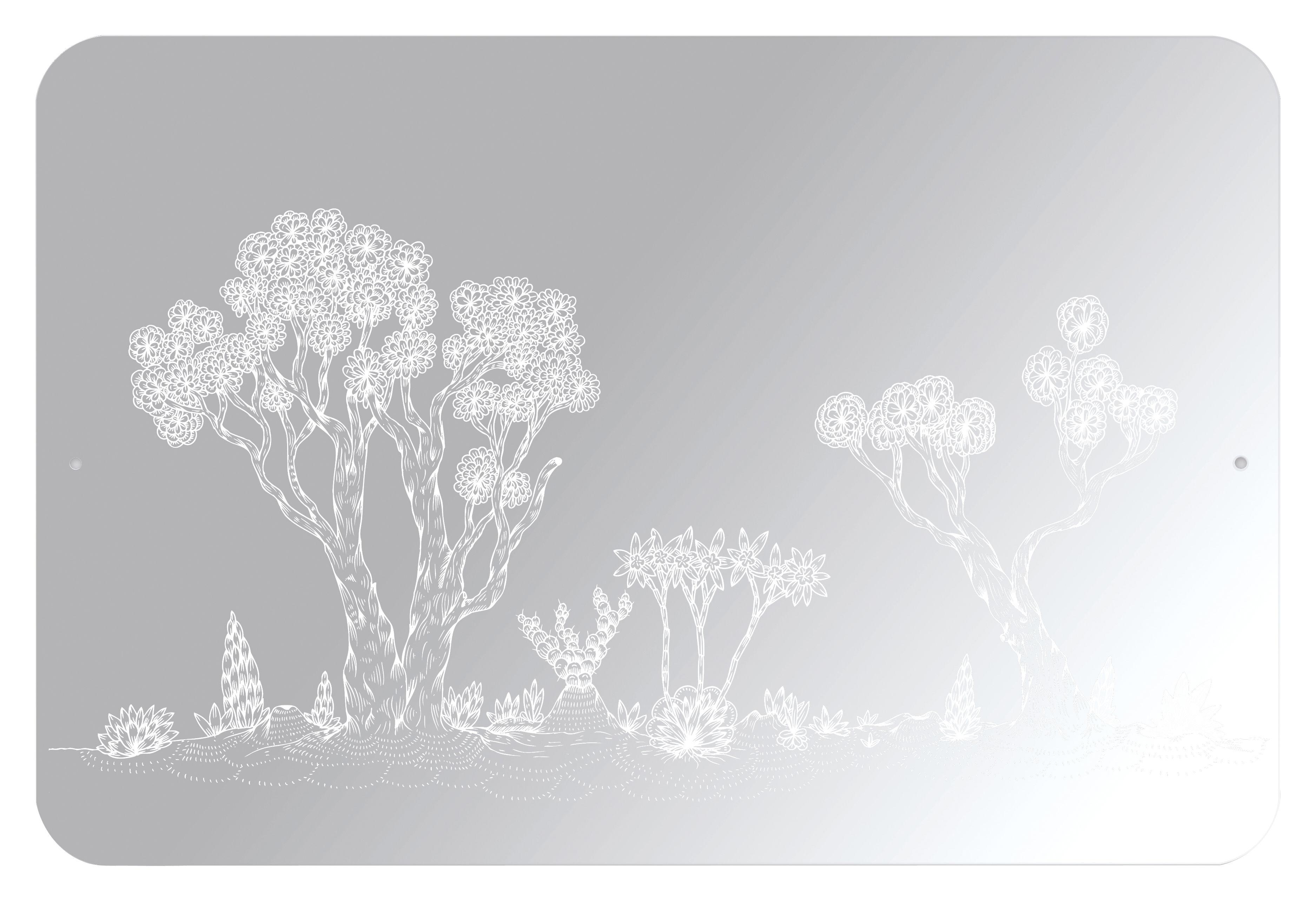 Arredamento - Specchi - Specchio autocollante Landscape - / Autoadesivo di Domestic - Motivo paesaggio - Materiale plastico