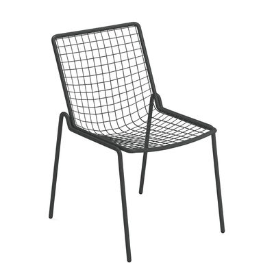 Furniture - Chairs - Rio R50 Stacking chair - / Metal by Emu - Antique Iron - Steel