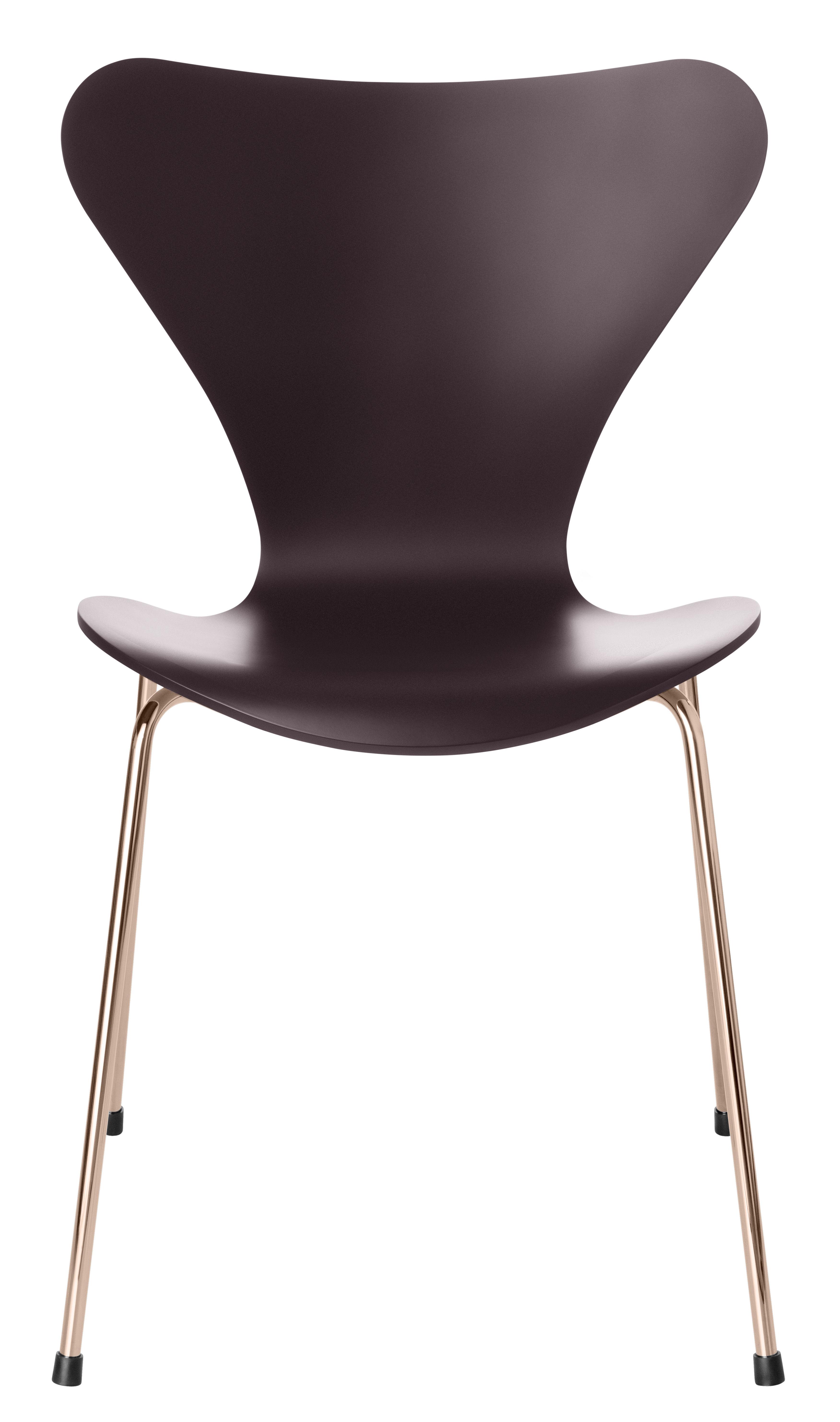 s rie 7 stapelbarer stuhl 22 kar tiges gold limitierte auflage merlot rot stuhlbeine. Black Bedroom Furniture Sets. Home Design Ideas