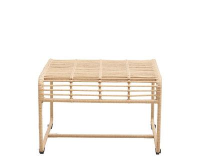 Arredamento - Tavolini  - Tavolino Oluf - / Sgabello - H 38 cm di House Doctor - Naturale - Ferro, Materiale plastico